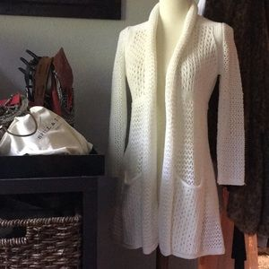 Anthropologie Angle of the North Open Cardigan LN